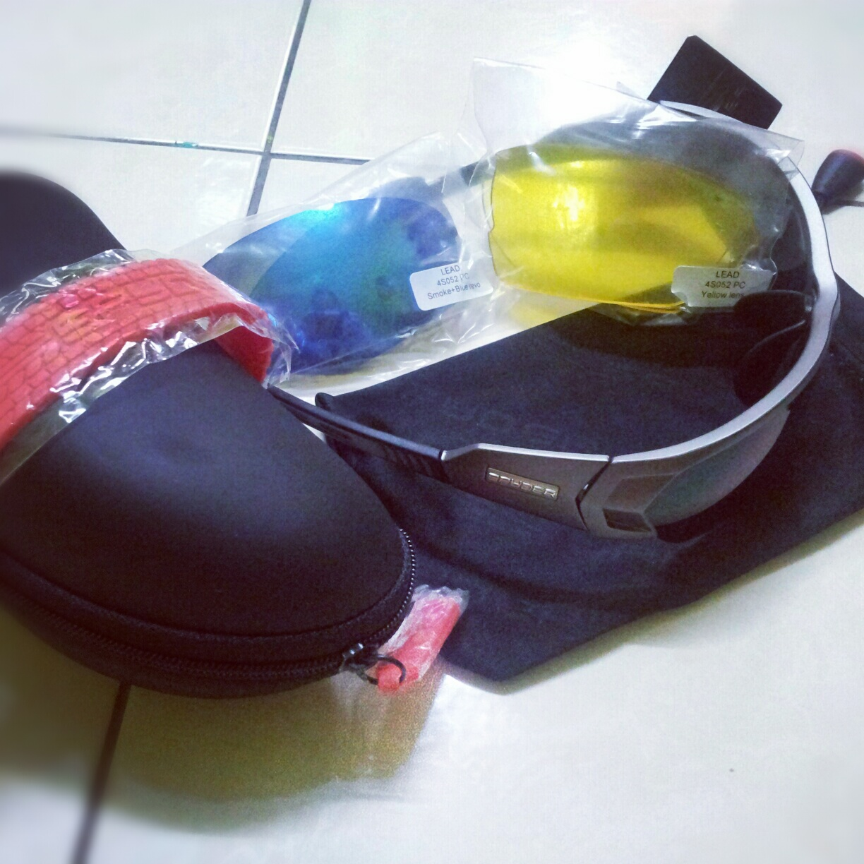 (WTS) Spyder LEAD Innovative Sport Eyewear Attachment