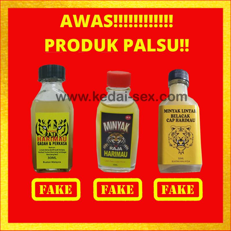 minyak raja harimau palsu tiruan fake.jpg