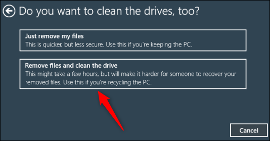 Remove-files-and-clean-the-drive-option.png